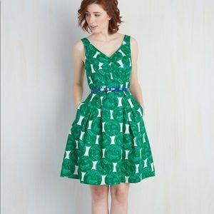 NWOT ModCloth All Day Elan Dress Vintage inspired